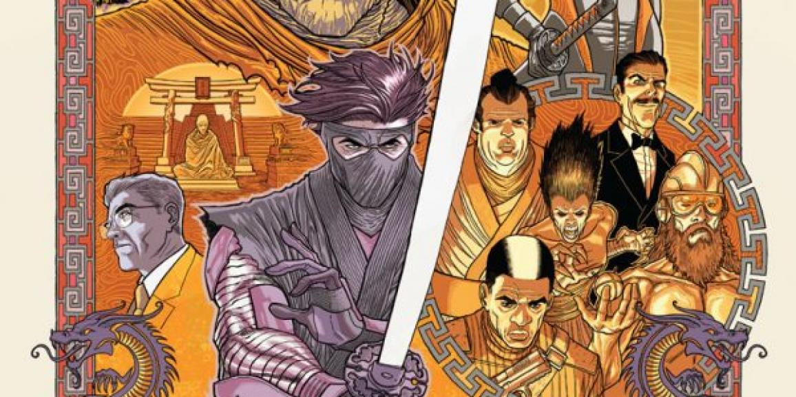 "First Look: Matt Kindt and Marc Laming Sharpen ""THE SEVEN BLADES OF MASTER DARQUE"" – Coming to NINJAK #23 this January"