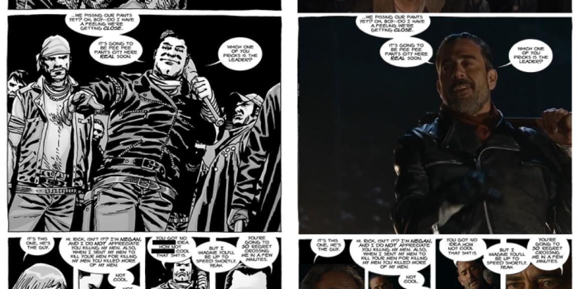 Comic Book to TV: The Walking Dead Negan Debut
