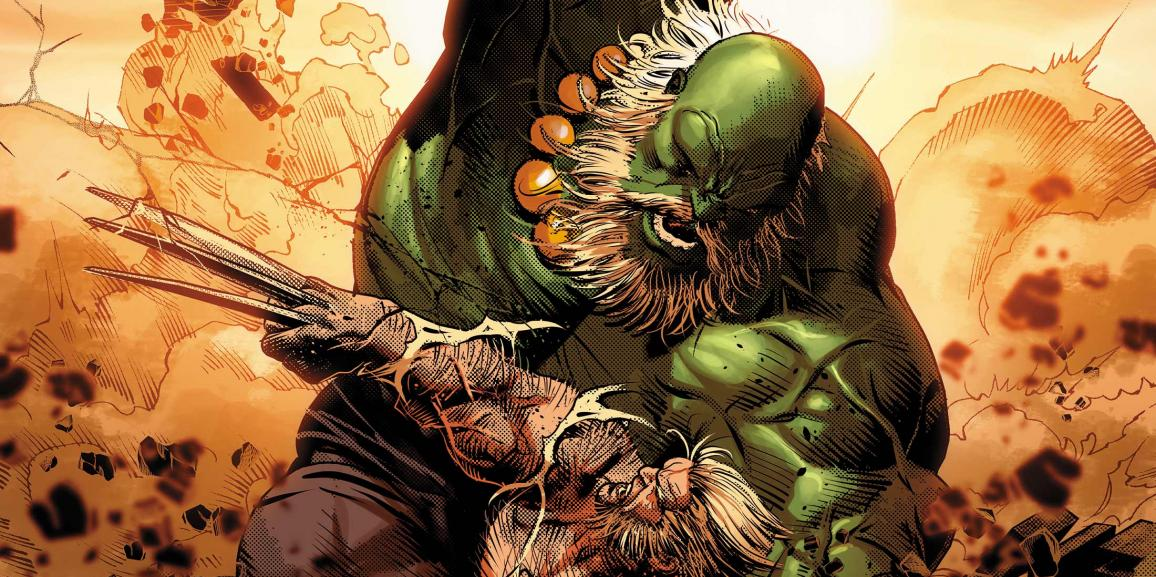 Wolverine vs. Hulk As You've Never Seen Before in Old Man Logan #25