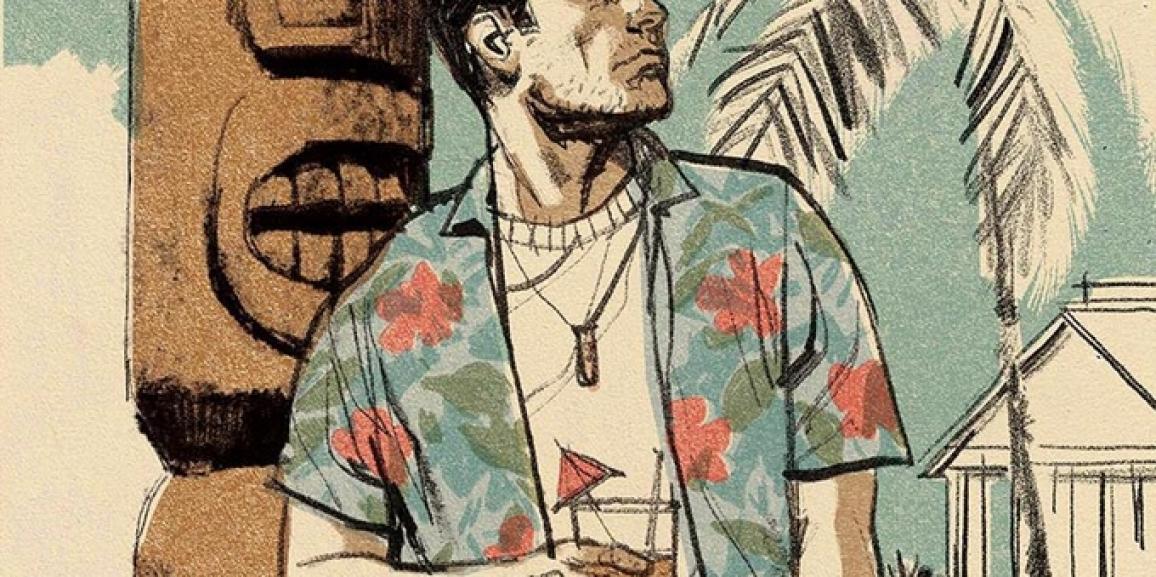 Let's Kickstart This! The Great Big Hawaiian Dick 100 Page Hardcover Graphic Novel