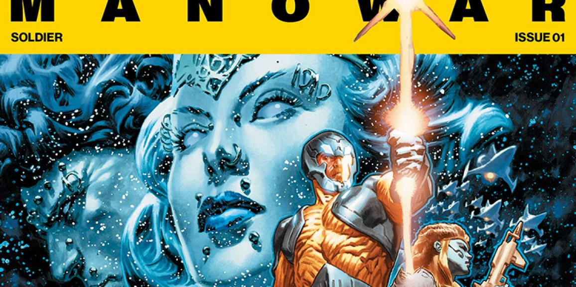 Advance Review: X-O Manowar #1- What Makes a Hero?