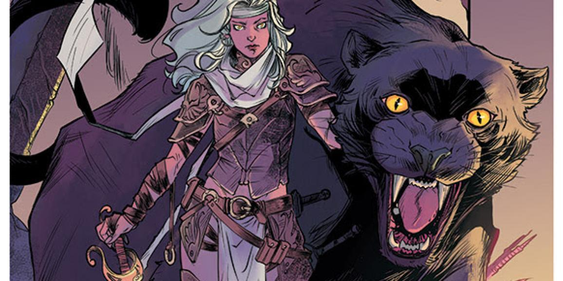 Wonder Woman Writer Meredith Finch and Ig Guara Launch New High Fantasy In Rose