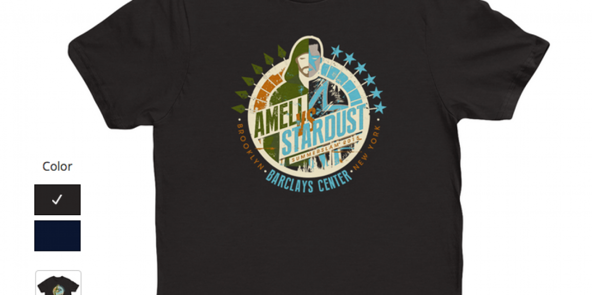 Support Stephen Amell Vs Stardust Battle at Summerslam 2015 and Help Emily's House at the Same Time