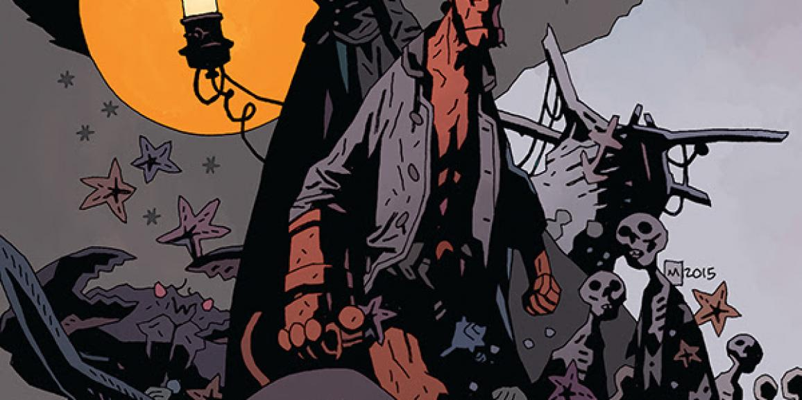 """Celebrate Halloween with a Preview from """"Hellboy: Into the Silent Sea"""""""