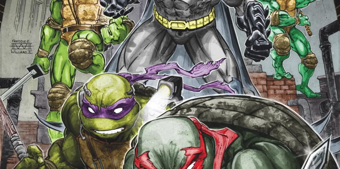 Batman/ Teenage Mutant Ninja Turtles #1 Review: Team-Up in a Half Shell