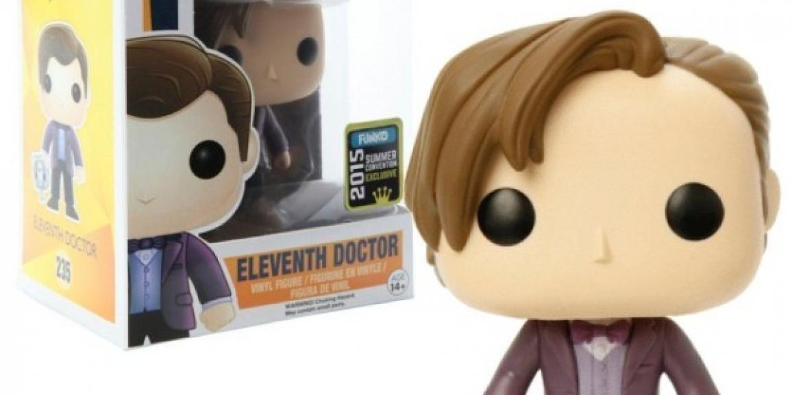 Countdown to Comic-Con Giveaway #2! Doctor Who Pop Exclusive!