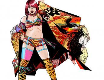WWE Superstar Asuka Debuts at  BOOM! Studios