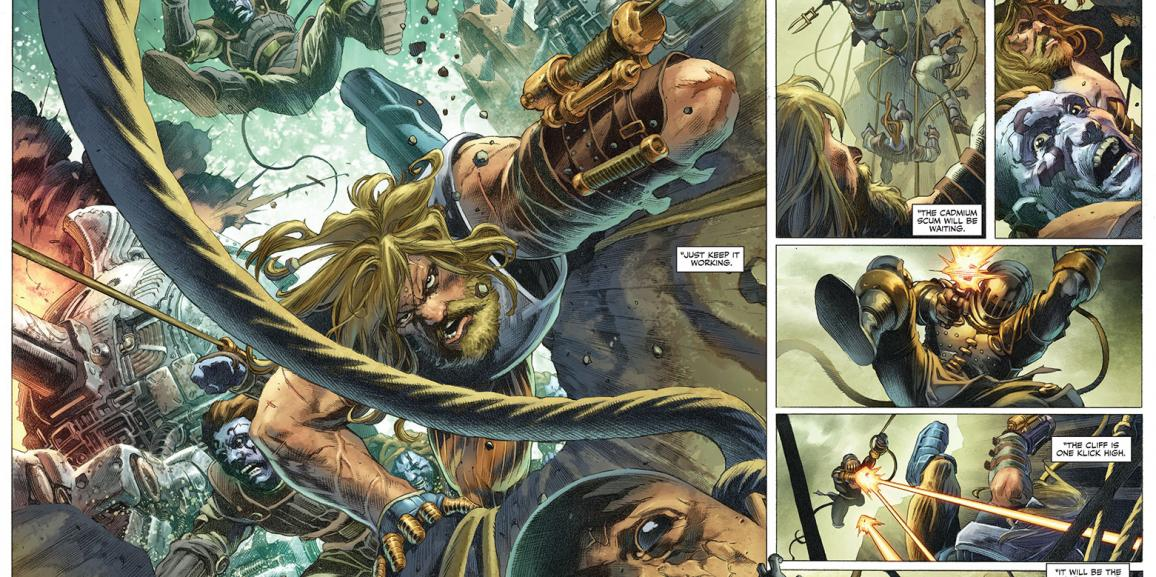 Valiant Unveils First Lettered Look Inside X-O Manowar #1 – On Sale March 22nd