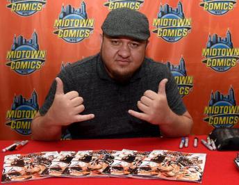 WWE Superstar Samoa Joe Makes His  Debut in BOOM! Studios' WWE Comics