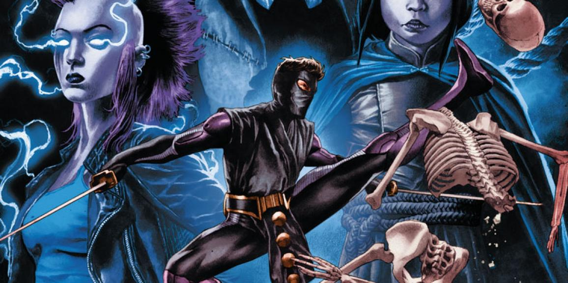 Rapture #1 – Ninjak and Shadowman Lead Valiant's Next Standalone Event in May