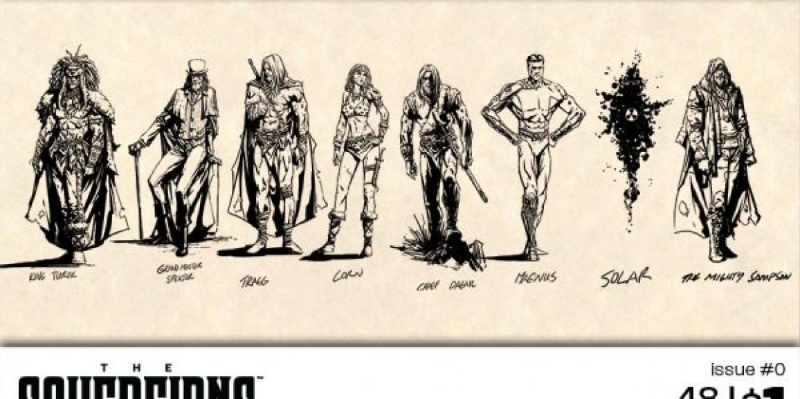The Sovereigns from Dynamite Entertainment Re-imagines Legendary Gold Key Heroes
