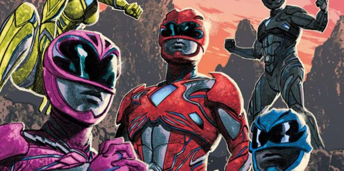 Saban's Power Rangers: Aftershock Original Graphic Novel Picks Up Where Film Leaves Off