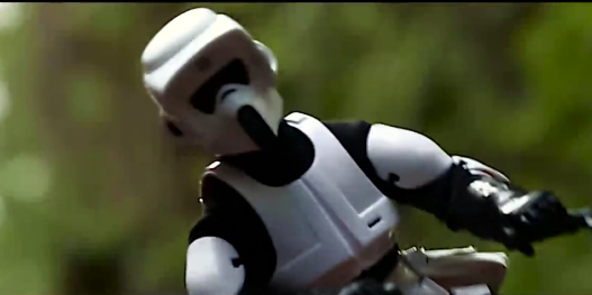 Drone Pilots Recreate Famous Star Wars Scene