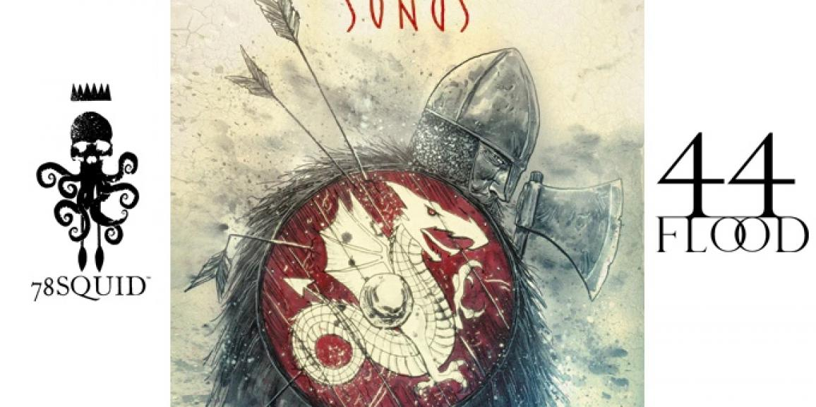 Let's Kickstart This! Blood Songs by Ben Templesmith