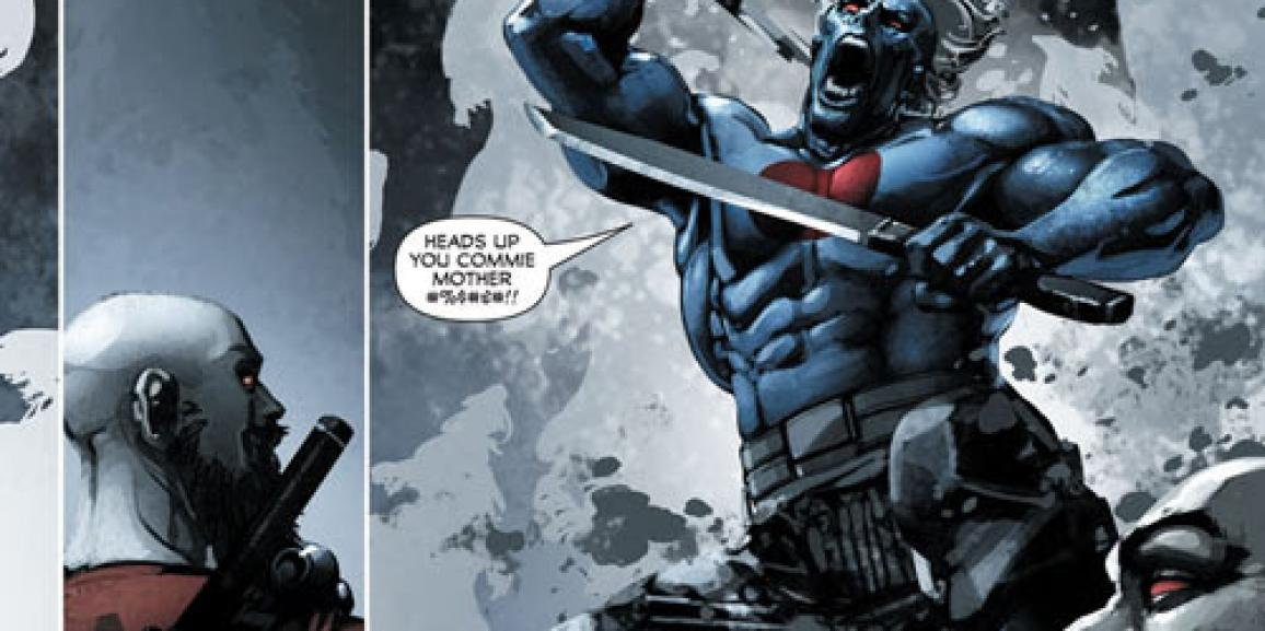 Valiant Previews: Divinity III: Komandar Bloodshot #1, Savage #2 and Generation Zero #5
