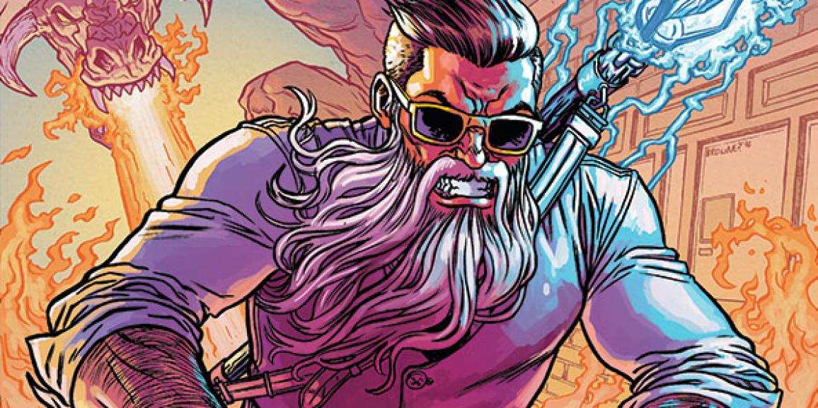 Curse Words #1 Review: A Wizording World