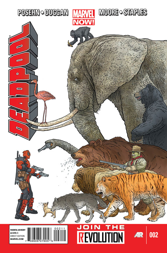 Chopping Block Review: Deadpool #1 and #2