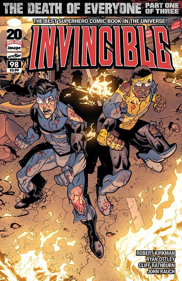 Chopping Block Review: Invincible #98