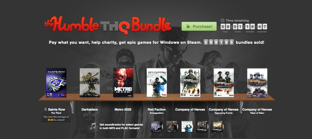 Humble THQ Bundle Brings Deals for Charity
