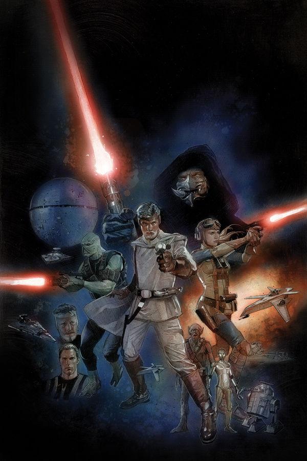 Dark Horse's The Star Wars #1 Trailer is Here!