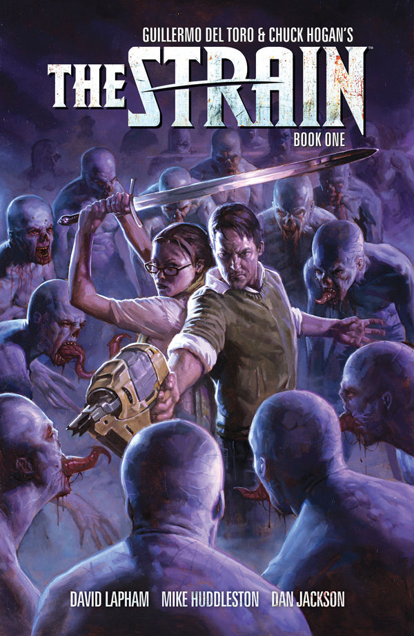 Dark Horse Announces The Strain: The Night Eternal- Continuing Guillermo del Toro and Chuck Hogan's Acclaimed Vampire Epic