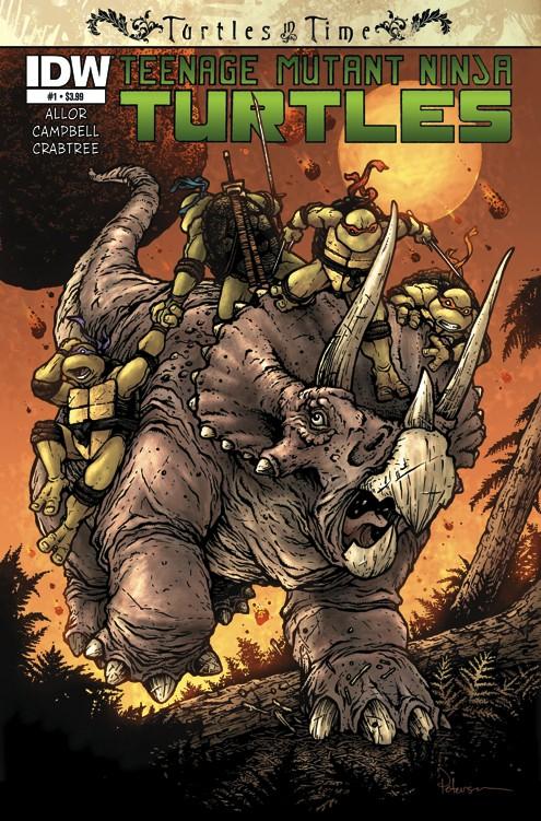 Teenage Mutant Ninja Turtles: Turtles In Time #1 Review