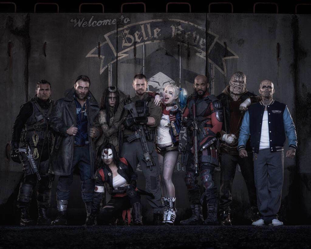 The Suicide Squad and the Masked Version of Deadshot Are Revealed… And Look Amazing
