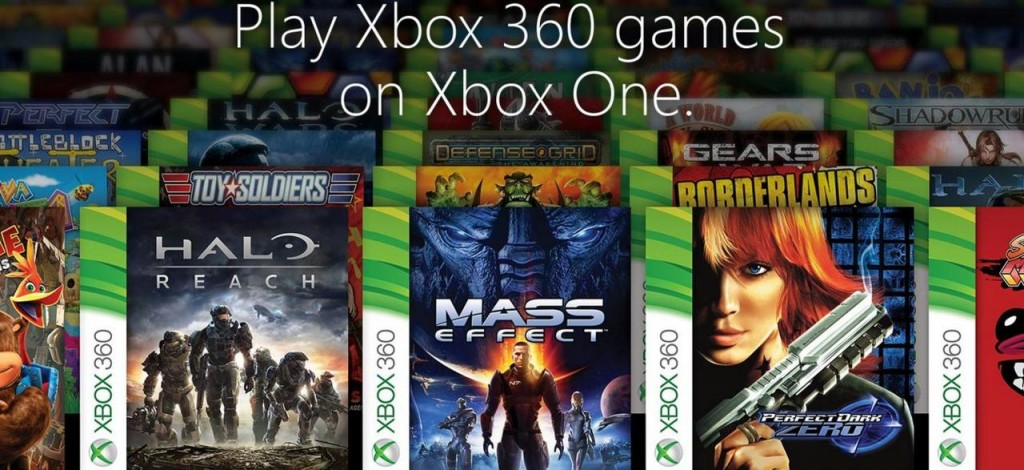 X-Box One is now X-Box 360 Backwards Compatible
