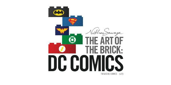 DC Comics Meets LEGO Art at the San Diego Comic Con