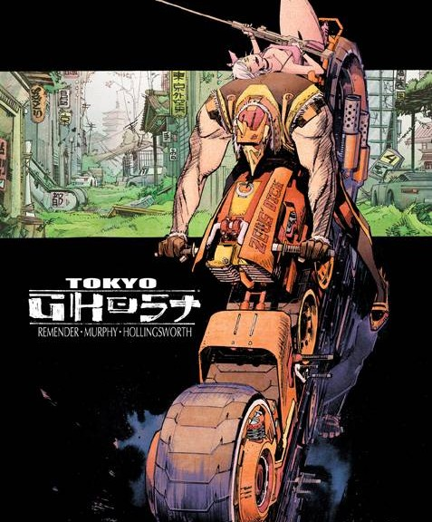 Tokyo Ghost #1 Review: A Haunting Reflection of Modern Society
