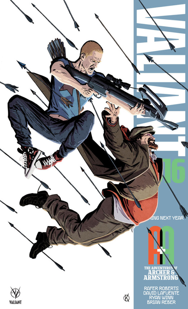 A&A: THE ADVENTURES OF ARCHER & ARMSTRONG – Coming in 2016 from Valiant