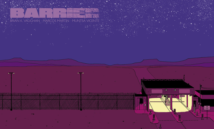 Barrier #1 Review- Vaughn and Martin Return with Pick Your Price Greatness