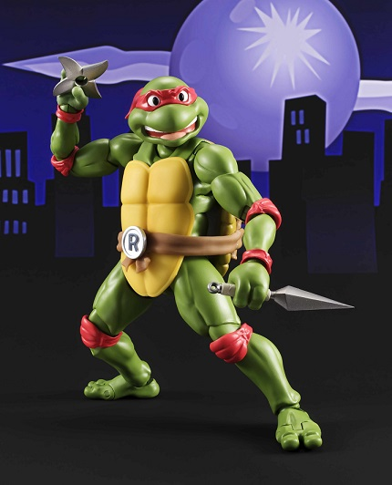Bluefin Expands the S.H. Figuarts Line with New Teenage Mutant Ninja Turtles Figures with Raphael and Michelangelo