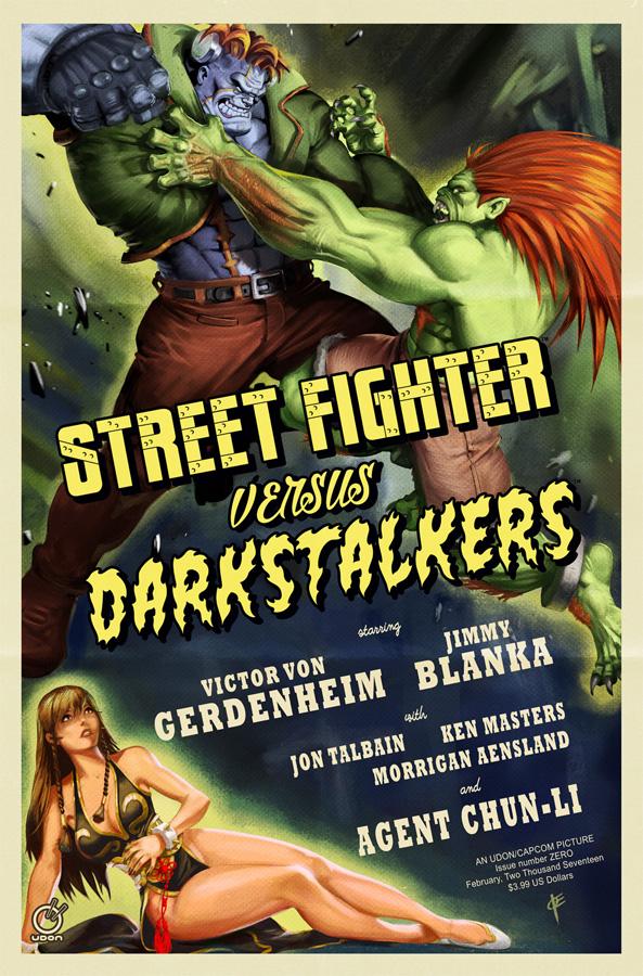 Street Fighter Vs. Darkstalkers #0 Review: Arcade Style Monster Mash