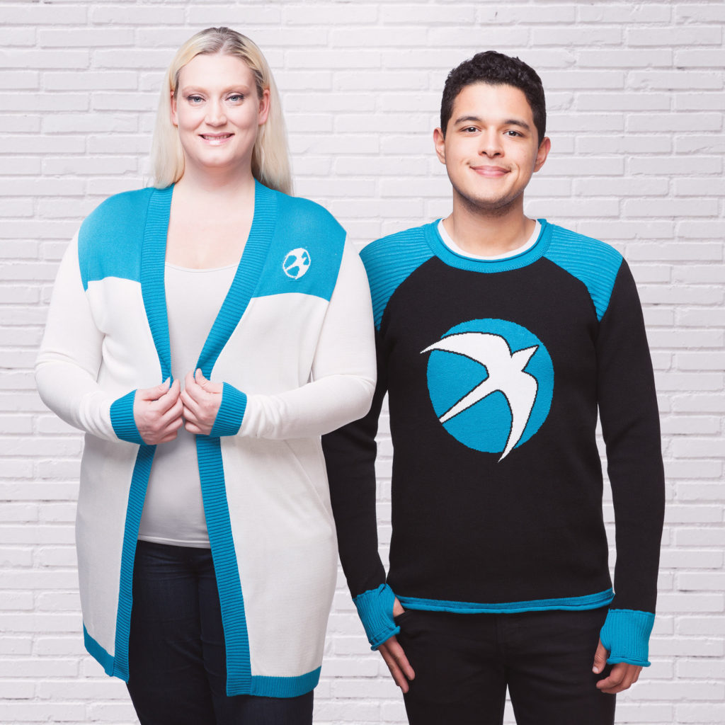 """Valiant & Elhoffer Team Up for """"The Faith Collection"""" – A Stylish New Fashion Line Available Exclusively at ThinkGeek!"""