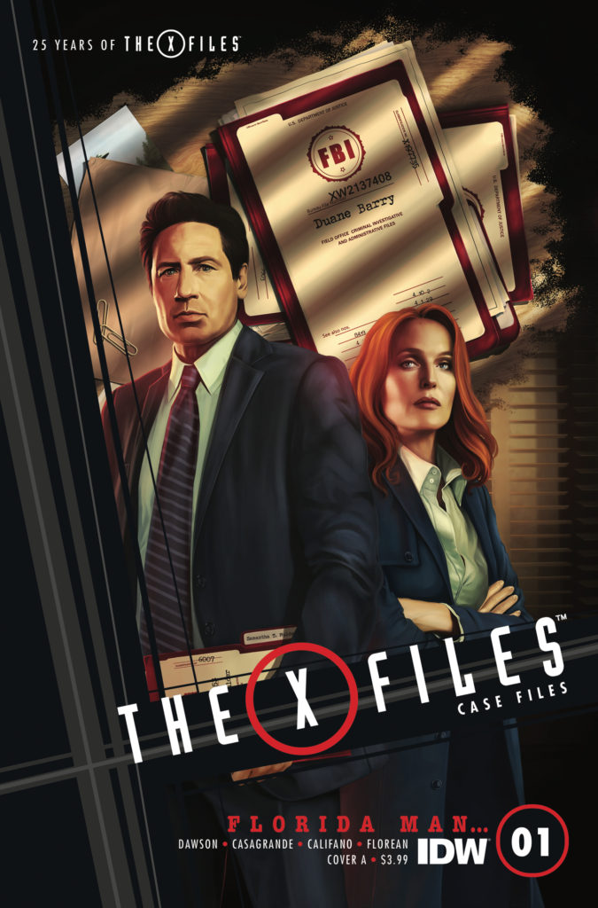 The X-Files Case Files: The Florida Man #1 Review