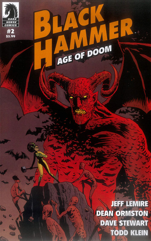 Black Hammer: Age of Doom #2 Review- Dance with the Devil