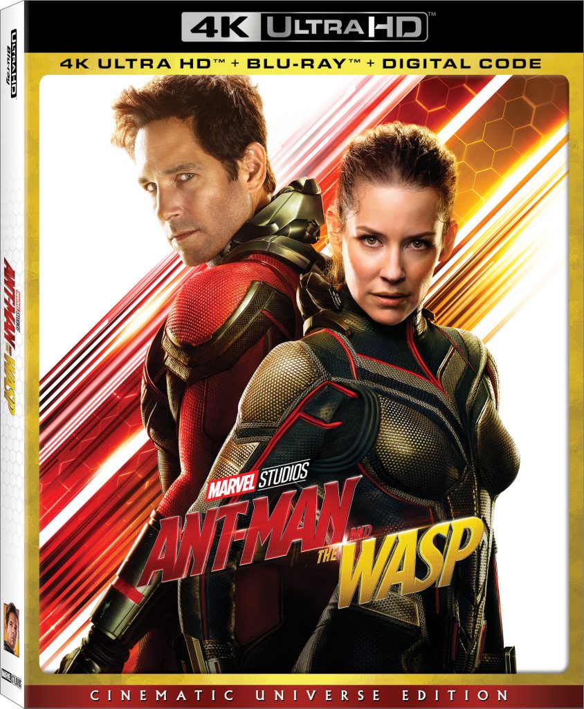 Disney's Ant-Man And The Wasp Comes Home on Digital 10/2 and Blu-ray, 4K Ultra HD on 10/16