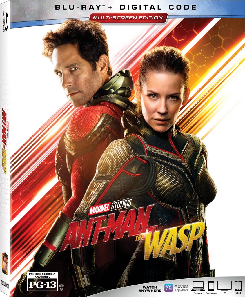 Winner of the Ant-Man and the Wasp Blu-Ray Announced!
