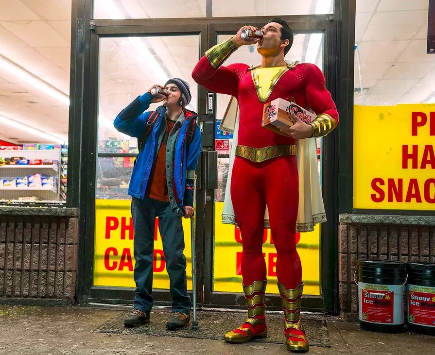 The Shazam Review: Say My Name
