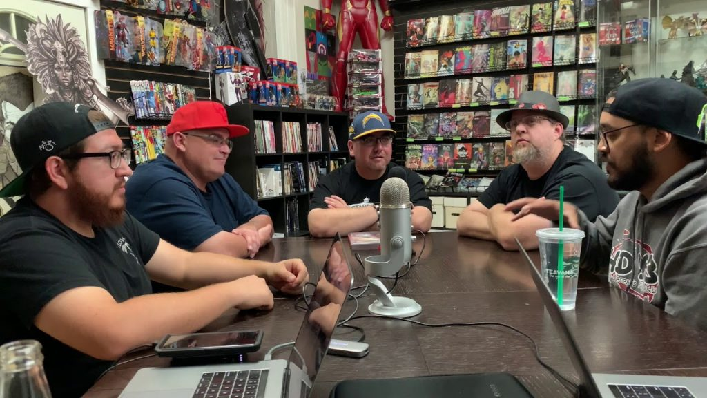Pastrami Nation Podcast #1- Avengers Endgame Predictions, Joker Reaction and Free Comic Book Day!