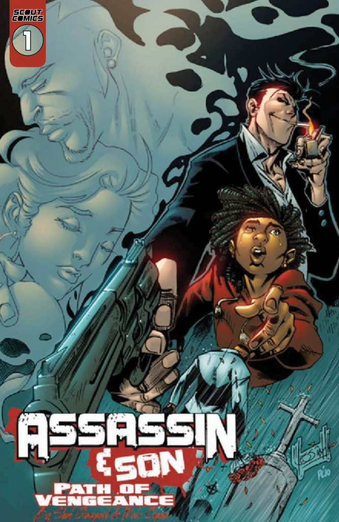 Scout Comics Announces New Series Assassin & Son: Path of Vengeance for Spring 2020 Nonstop! Imprint Debut