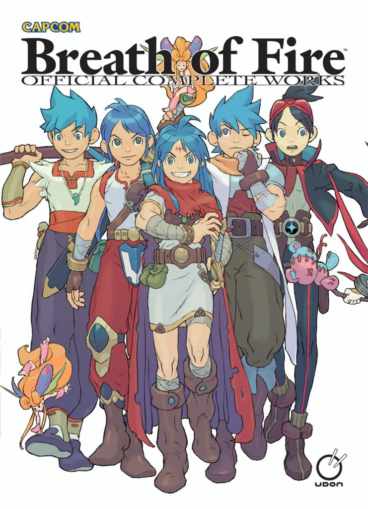 Breath of Fire: Official Complete Works To Be Released By UDON Entertainment