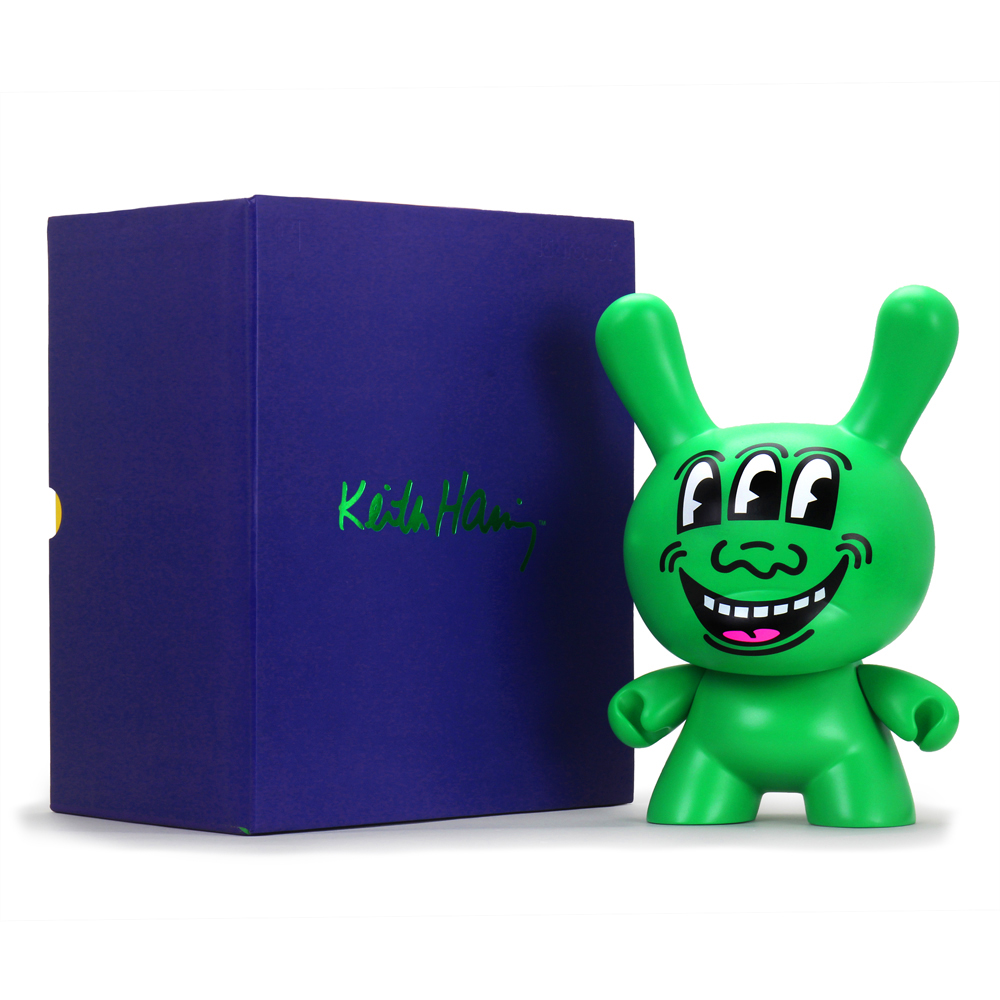 Kidrobot brings art to life with the firstpiece in a new collectionfeaturing the work ofKeith Haring