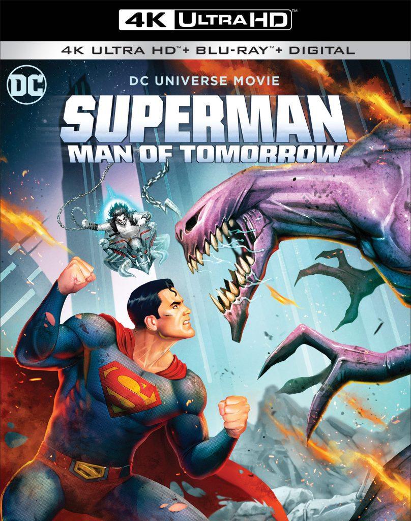 Superman: Man of Tomorrow coming to Digital (8/23) & 4K/Blu-ray (9/8)