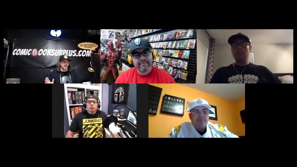 Pastrami Nation Podcast! DC/Diamond Split, Justice League Snyder Cut, HBO Max and more!