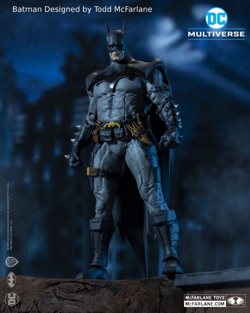 Legendary Artist Todd McFarlane Designs Brand New Batman Action Figure