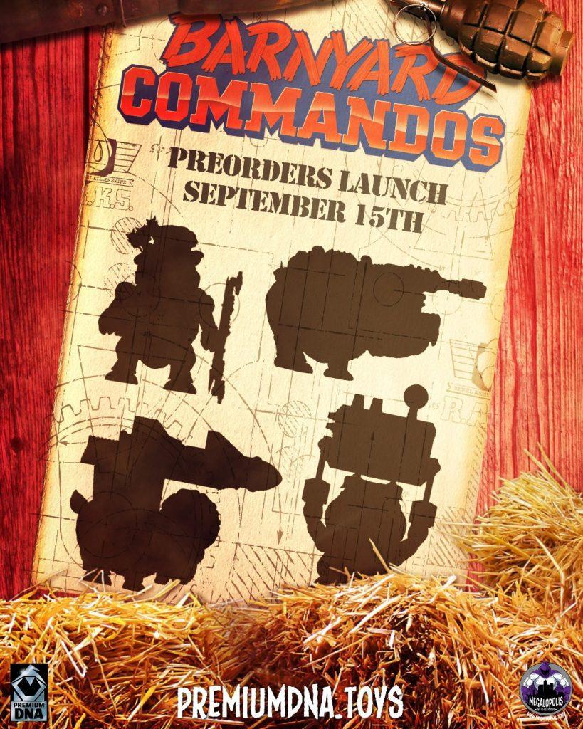 Barnyard Commandos Redeploy September 15th