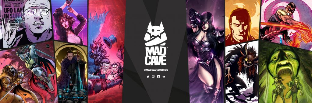 Mad Cave Studios Presents the Mad Cave Showcase 2.0 on Oct 3rd