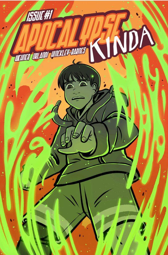 Comic Book Review: Apocalypse Kinda #1